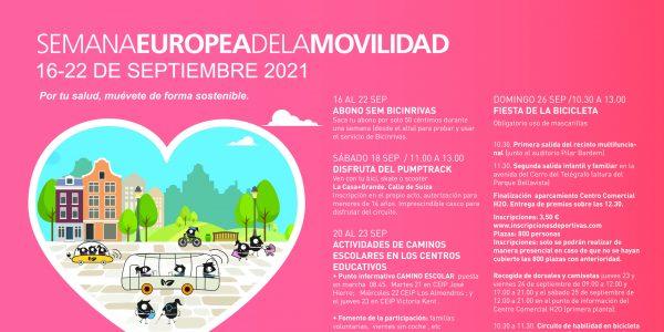 Rivas se suma un año más a la Semana Europea de la Movilidad