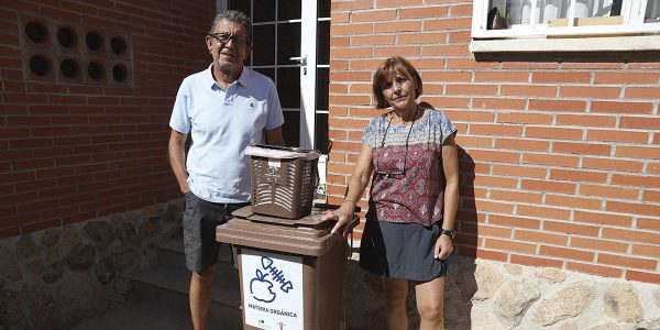 El quinto contenedor ya recicla en 715 hogares de Rivas