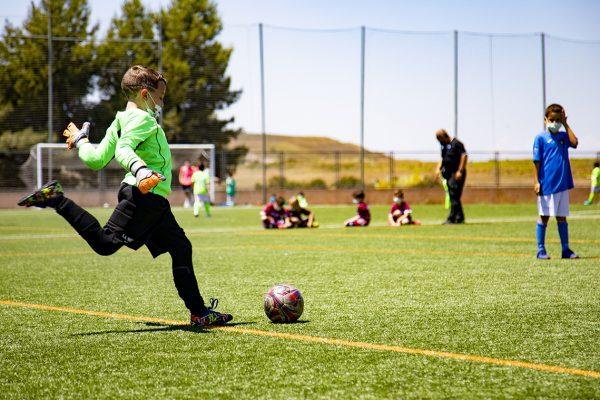 Nueva escuela municipal de fútbol 7 en el centro deportivo Supera