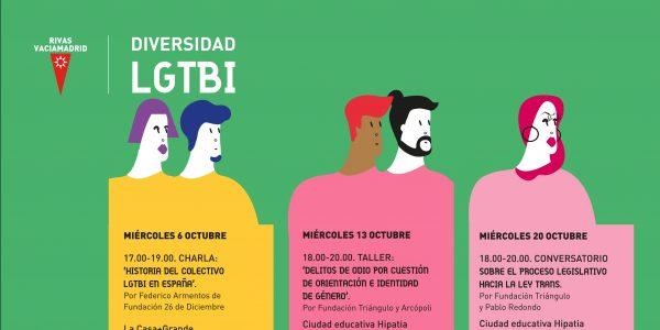 La realidad LGTBI: en talleres, charlas y exposiciones
