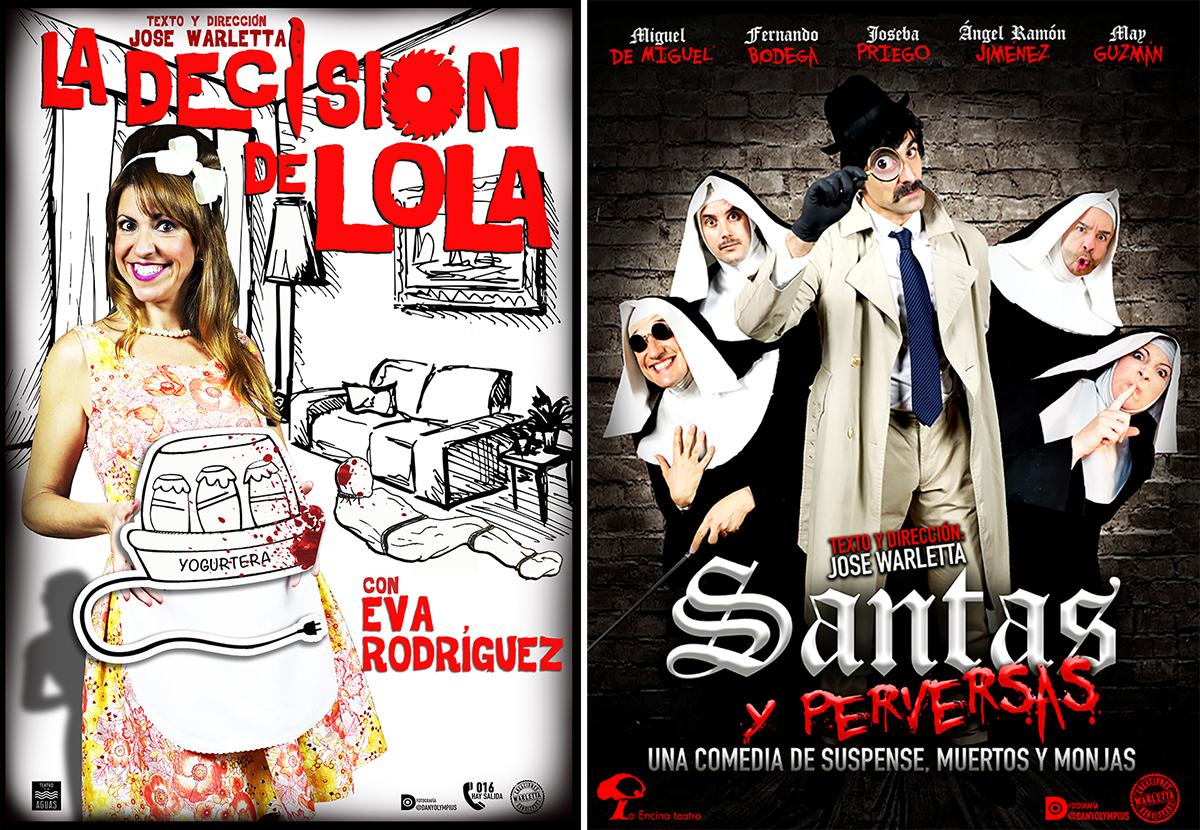 Teatro independiente: 'La decisión de Lola' y 'Santas y perversas'