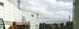 Nuevo edificio de vestuarios y oficinas para el polideportivo Cerro del Telégrafo