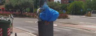 El mal uso de las papeleras, un problema para las calles